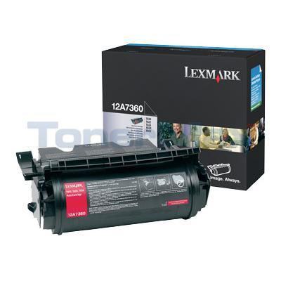 LEXMARK T632 TONER CARTRIDGE